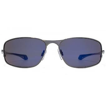 Freedom Polarised Metal With Flex Hinges Sunglasses In Dark Gunmetal