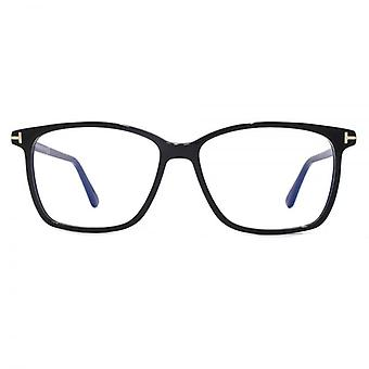 Tom Ford FT5478-B Blauw Filter Lens brillen In Blinkend zwart