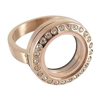 Stainless Steel Ring For Floating Charms Fl3806