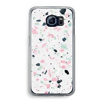 Samsung Galaxy S6 Transparent Case - Terrazzo N°3