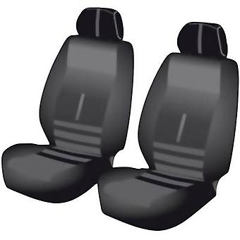 Seat covers 6-piece Unitec 84956 Twin Polyester