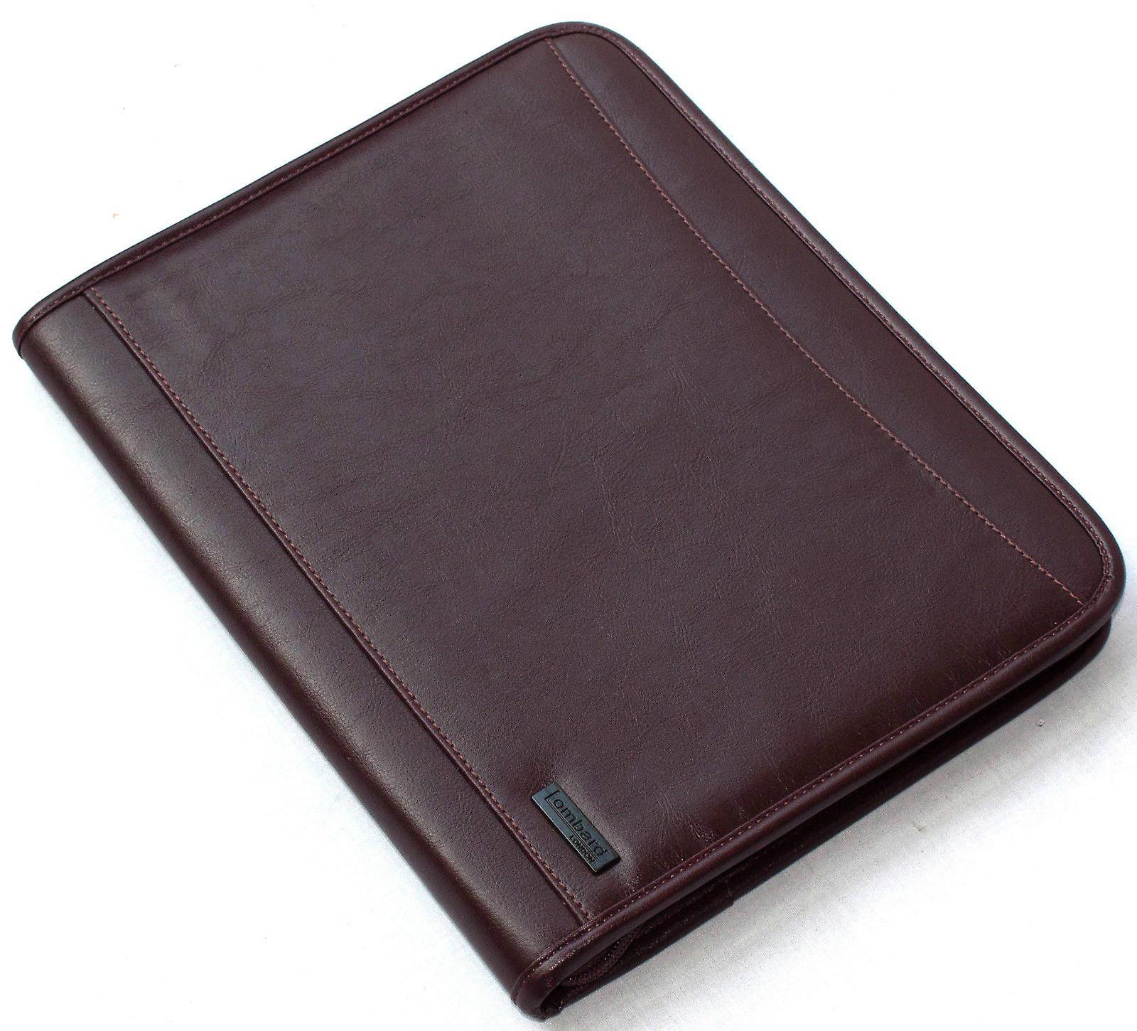 A4 Conference Folder Folio Case Pu Leather Ipad Tablet Holder Pad Organiser