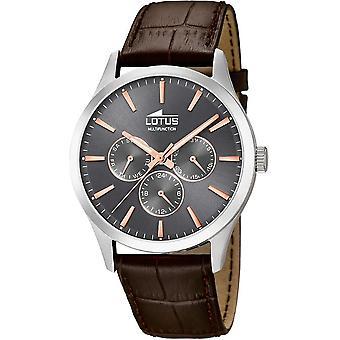 LOTUS - men's wristwatch - 18576/2 - minimalist - multi function