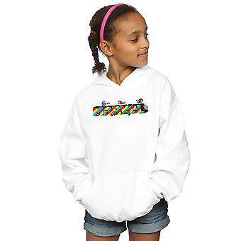 Marvel Girls Kawaii Marvel Stripes Hoodie