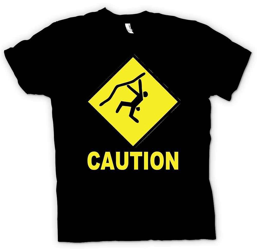 Kids T-shirt - Climbing Low Gravity Ahead - Funny