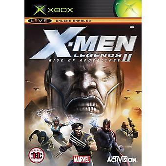 X-Men Legends II Rise of Apocalypse (Xbox)