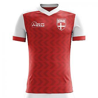 2018-2019 Dinamarca concepto casa camiseta de fútbol