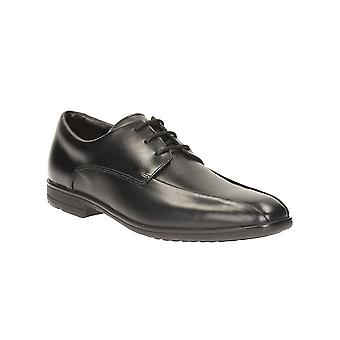 Bootleg Boys Shoe Willis Lad Black Leather