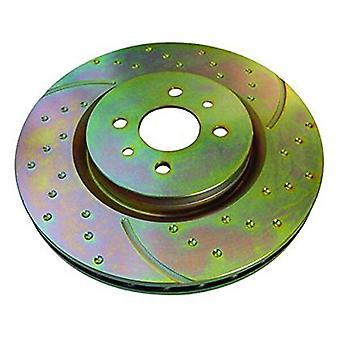 EBC Brakes GD973 3GD Series Dimpled and Slotted Sport Rotor