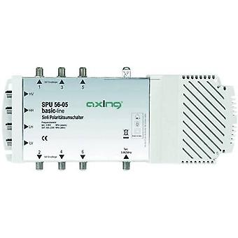 Axing SPU 56-05 SAT multiswitch ingressi (multiswitch): 5 (4 SAT/1 terrestre) No. di partecipanti: 6 Quad LNB compatibile