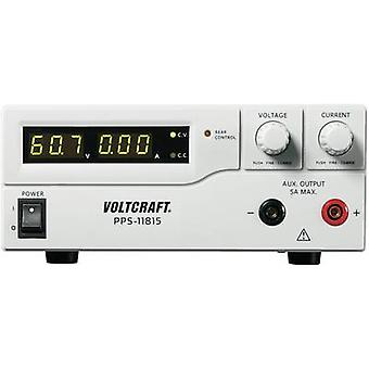 VOLTCRAFT PPS-11815 Bench PSU (adjustable voltage) 1 - 60 Vdc 0 - 5 A 300 W USB , Remote programmable No. of outputs 2 x