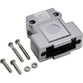 D-SUB housing Number of pins: 9 Plastic, metallised 180 ° Silver BKL Electronic 10120247 1 pc(s)