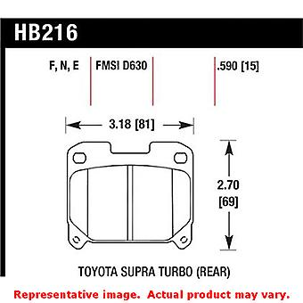 Hawk 'Performance Street' Brake Pads HB216F.590 Fits:TOYOTA 1993 - 1998 SUPRA T