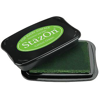 StazOn Solvent Ink Pad-Cactus Green