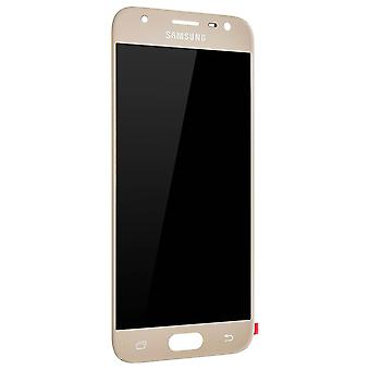 LCD replacement part with touchscreen for Samsung Galaxy J3 2017 - Gold