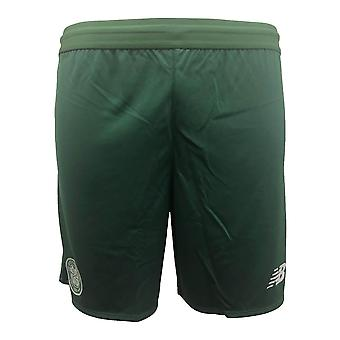 2018-2019 Celtic Elite Knitted Training Shorts (Green)
