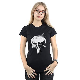 Bewundern Sie Frauen die Punisher TV Totenkopf Logo T-Shirt