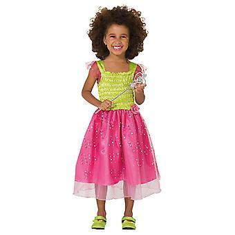Flower fairy dress costume for children fairy