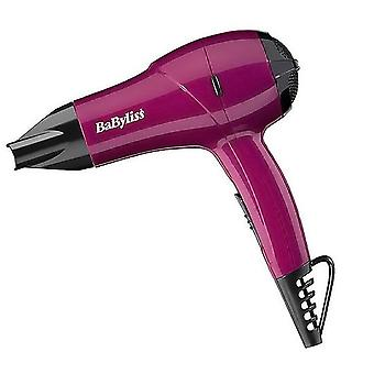 Babyliss 5282BAU Pink 1200W Nano Travel Multi Voltage Mini Hair Dryer