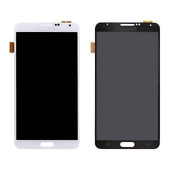 Roba Certified® Samsung Galaxy Nota 3 N9005 (4G) schermo (Touchscreen + LCD + parti) A + qualità - nero / bianco