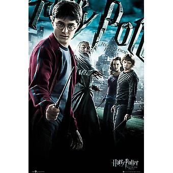 Harry Potter und der Halbblut -prinz Poster Harry, Dumbledore, Hermine & Ron.
