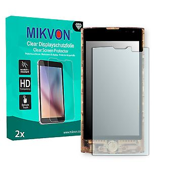 LG L25 Screen Protector - Mikvon Clear (Retail Package with accessories)