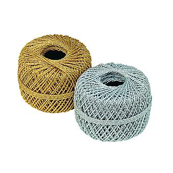 10m Gold Cord for Hanging Crafts (1.2mm Wide)