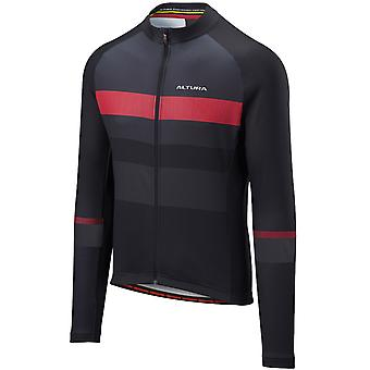 Altura Black-Charcoal 2018 Airstream Long Sleeved Cycling Jersey