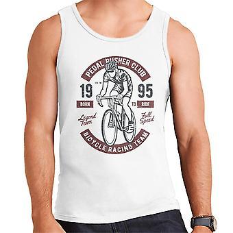 Fun Cool Urban Pedal Pusher Bicycle Racing Team Men's Vest
