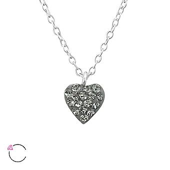 Heart - 925 Sterling Silver Necklaces - W37644x