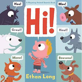 Hi! by Ethan Long - 9781419713651 Book