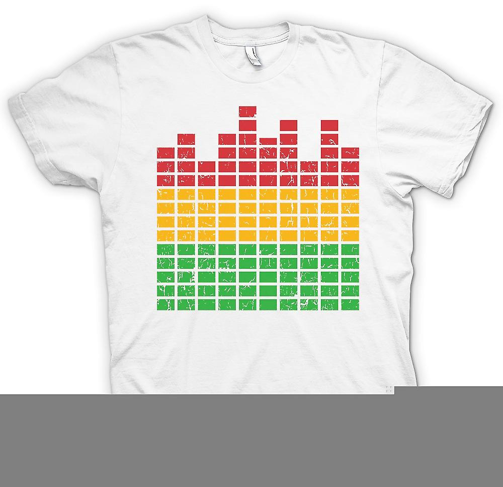 Mens T-shirt - Graphic Equaliser - DJ