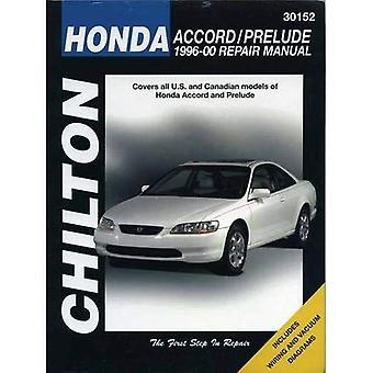Honda Accord/Prelude 1996-00 (Chilton Total Car Care Automotive Repair Manuals)