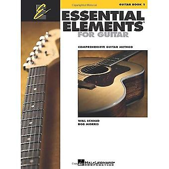 Essential Elements for Guitar, Book 1: Comprehensive Guitar Method