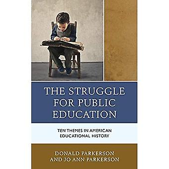 The Struggle for Public Education: Ten Themes in American Educational History