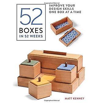 Boîtes de 52 à 52 semaines: améliorer vos compétences de conception une boîte à la fois