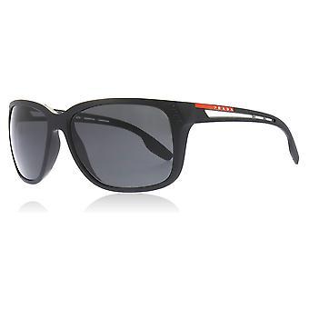 Prada Sport PS03TS 1BO5S0 Matte Black PS03TS Rectangle Sunglasses Lens Category 3 Size 59mm