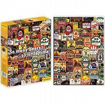 So Many Beers 1000 piece jigsaw puzzle   (nm)