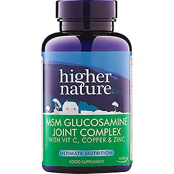 Higher Nature MSM Glucosamine Joint Complex, 240 veg tabs