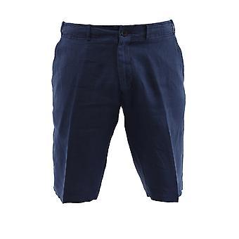 Corneliani Blue Linen Pants