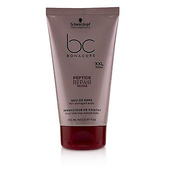 Schwarzkopf BC Bonacure Peptide Repair Rescue Sealed Ends (For Damaged Ends) 150ml/5.07oz