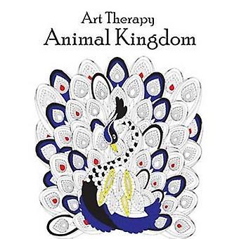Art Therapy Animal Kingdom by Pegasus - 9788131937617 Book