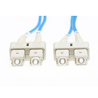 2M Sc Sc Om1 Multimode Fibre Optic Cable Blue