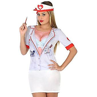 Atosa Fancy Dress - Nurse 3D T-Shirt Costume