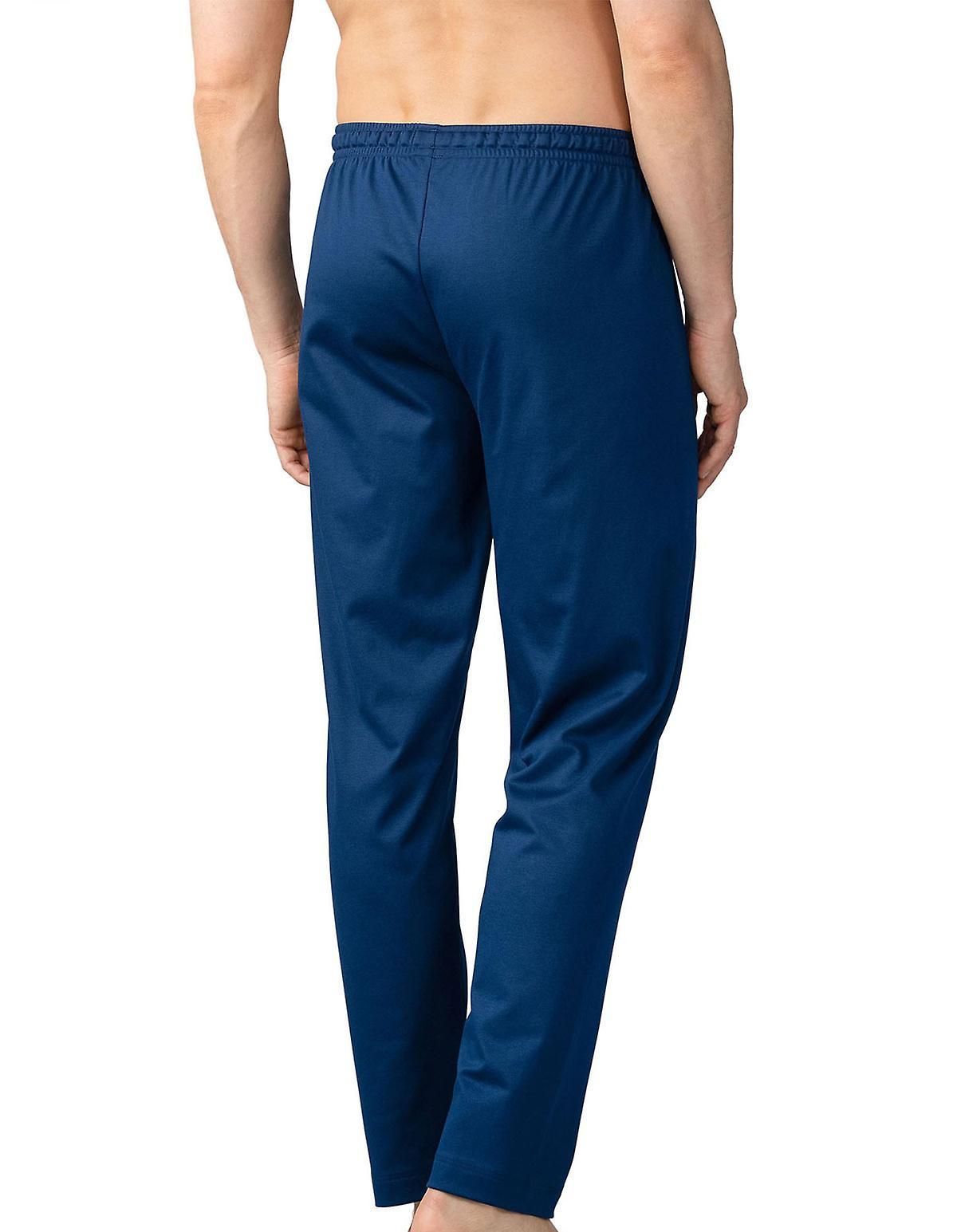Mey Hommes 20760-664 Hommes& 039;s Lounge Neptune bleu Cotton Pajama Pyjama Pant