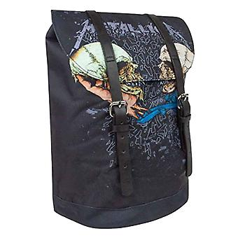 Metallica ryggsäck Heritage Bag Sad men sann band logo typ ny officiell svart