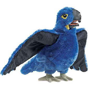 Hand Puppet - Folkmanis - Macaw Blue New Toys Soft Doll Plush 3060