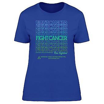 Kampf gegen Ovary Cancer Tee Women's -Bild von Shutterstock