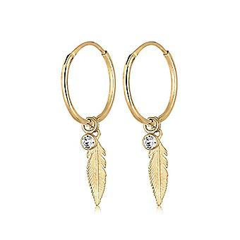Elli Silver Women's Hoop Earrings 312852017