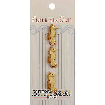 Fun In The Sun Buttons Seahorse Fn 125
